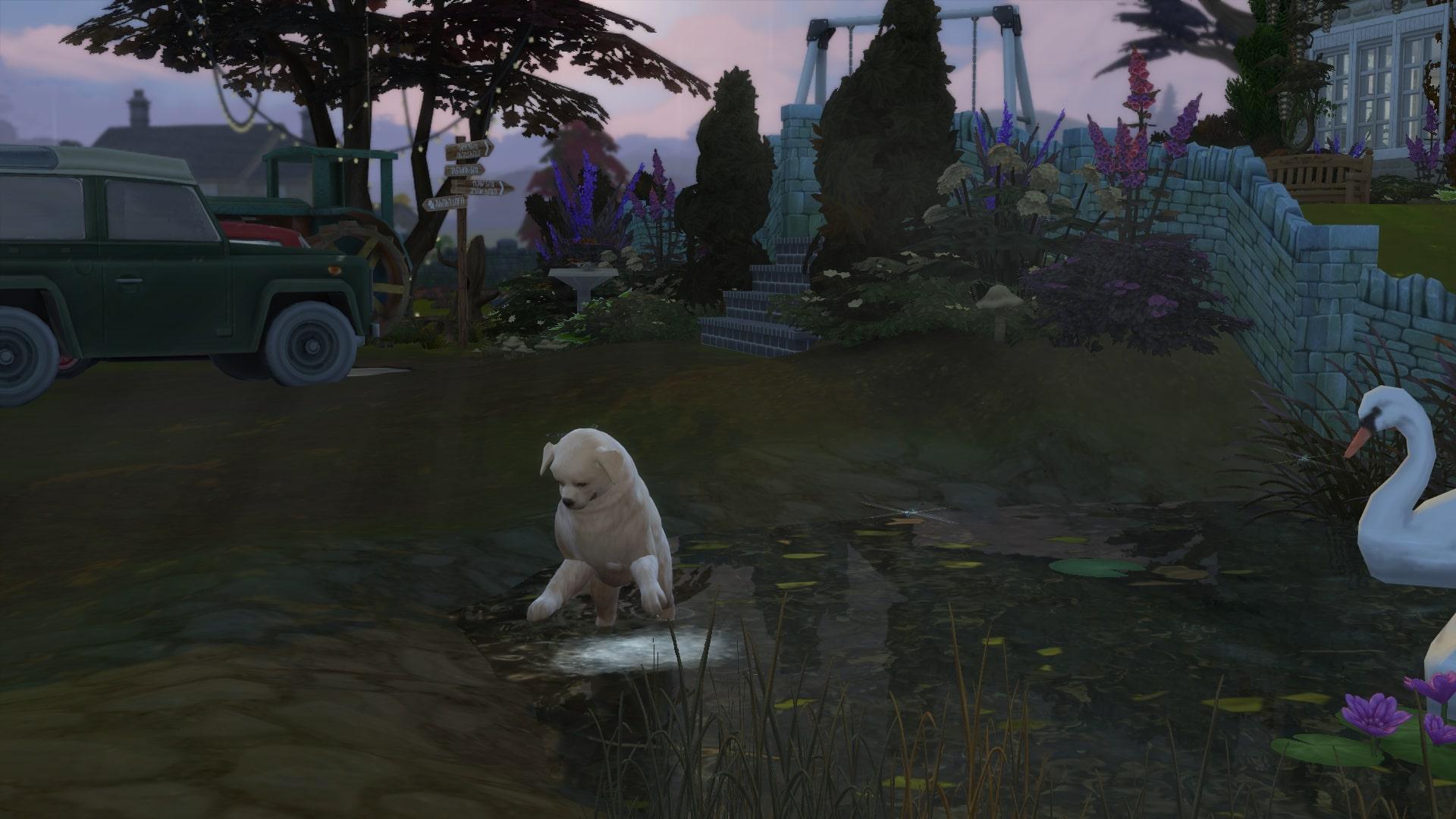 The Sims 4: Idyllic countryside