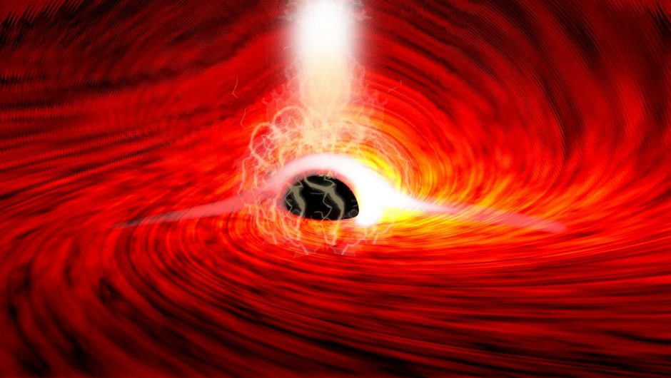 The exciting discovery of scientists was confirmed by Einstein's announcement.  Waves have been detected from behind the black hole