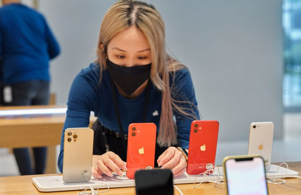 And after.  LG wants to sell iPhones, even though not everyone likes it