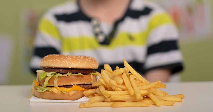 Banning advertising of fast food between 5:30 and 9 p.m., as well as on the web