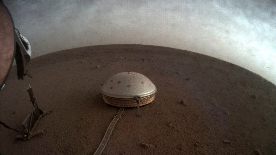 """Explore the interior of Mars with Insight probes.  She has, among other things enjoy shells, she never thought.  """"only chance"""""""