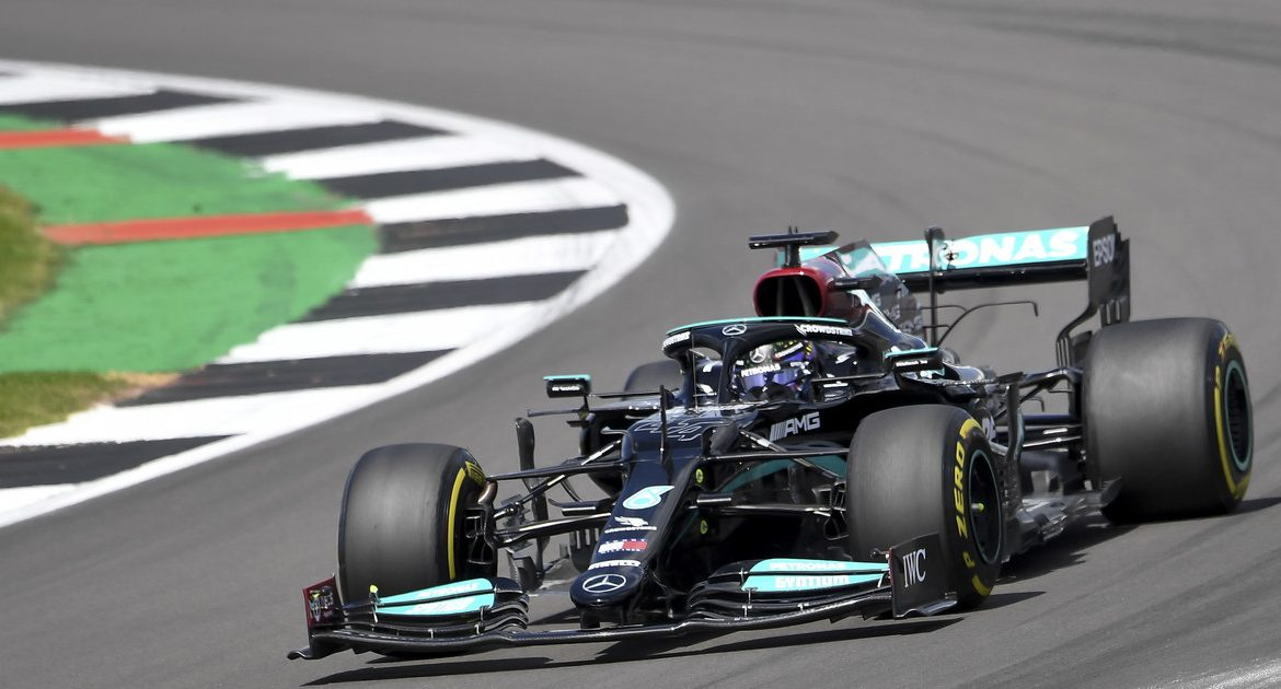 F1: British Grand Prix.  Qualifications complete.  Lewis Hamilton in first place