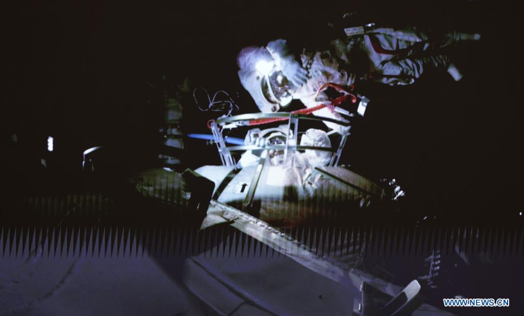 First space flight at China's Tiangong Station    urania