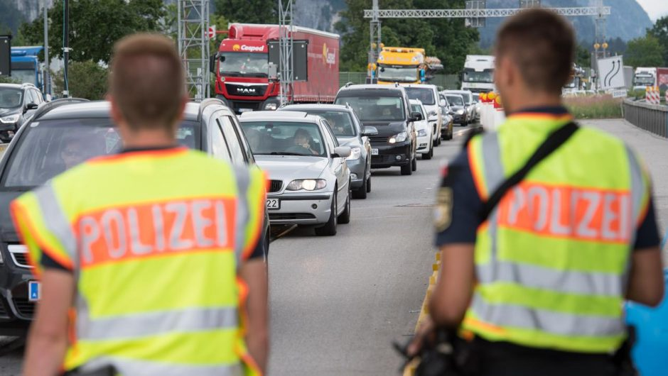 Germany.  New rules for entering Germany, the requirement to take a test