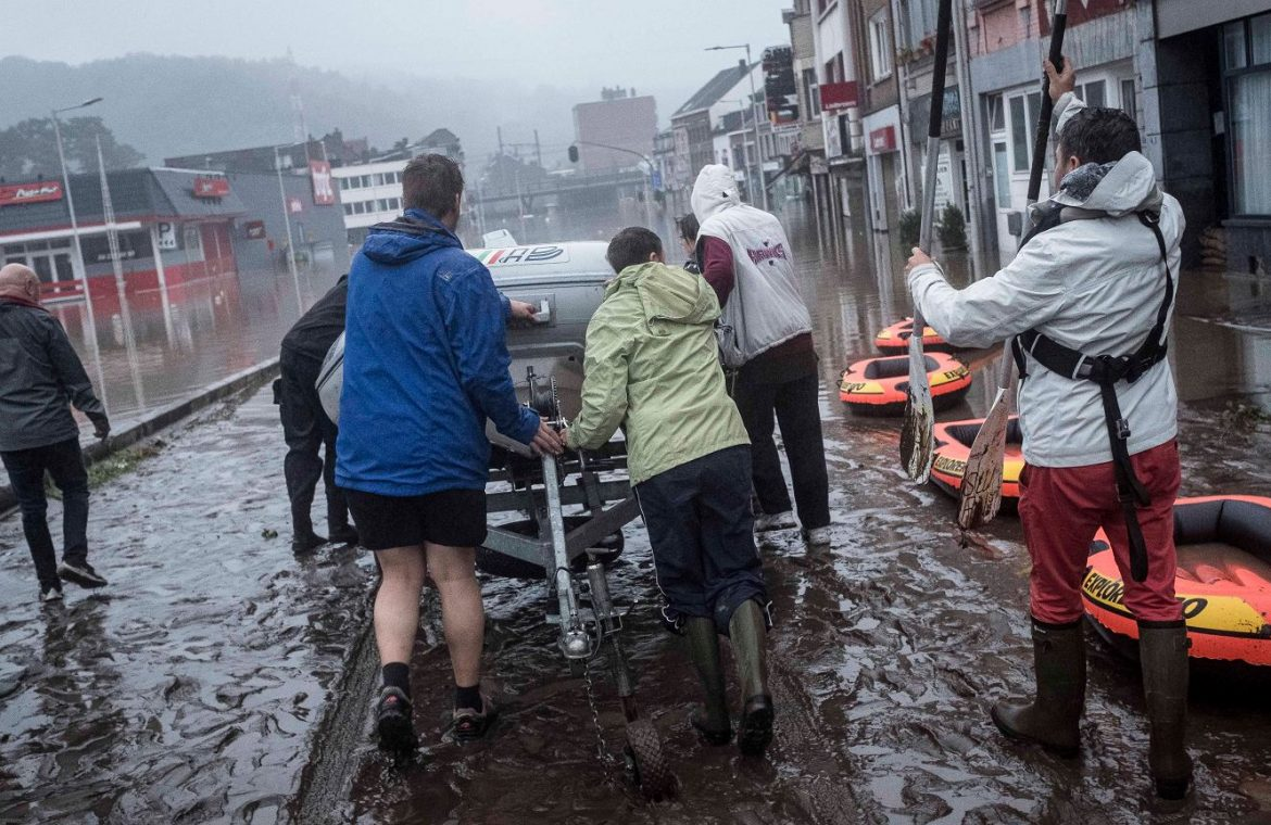 """Heavy rain in Europe.  """"We haven't seen a flood like this in 100 years""""    world News"""