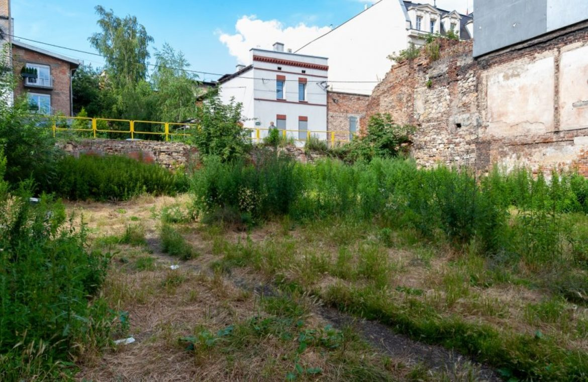 Instead of a demolished dwelling, a green area with a million zlotys will be built!