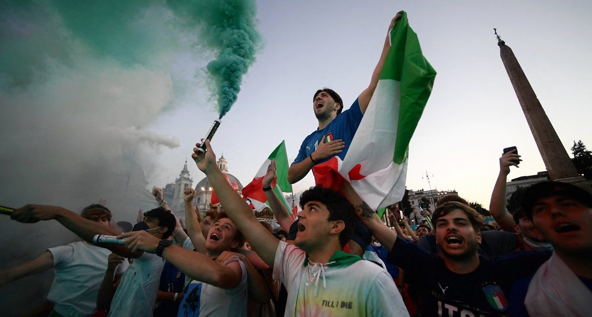 Italy-Spain: on high alert in Rome before the semi-finals.  Euro 2020