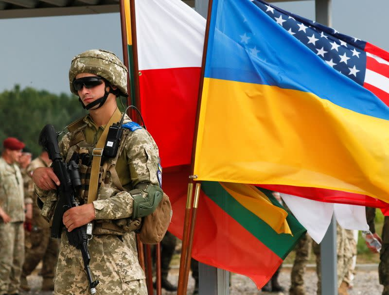 Joint military exercises of Ukraine with the United States, Poland and Lithuania