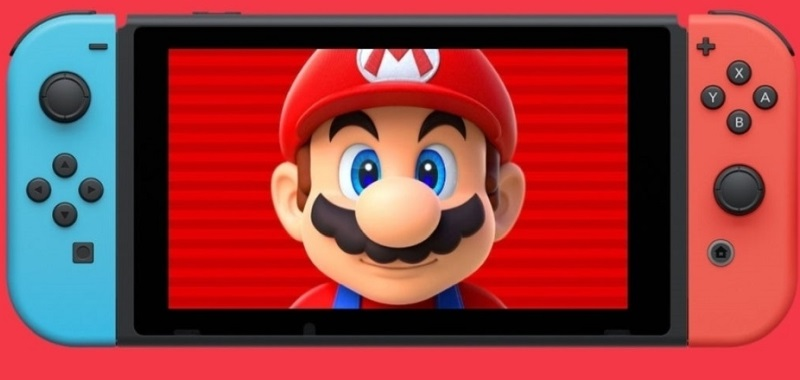 Nintendo switch with new firmware.  Update 12.1.0 introduces an interesting feature