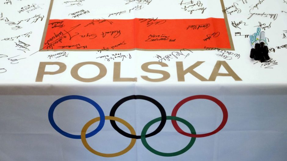 Poles at the Olympic Games in Tokyo.  Everyone is healthy - Tokyo 2020 Olympics