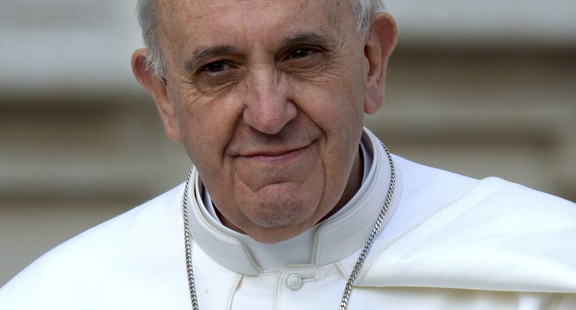 Pope Francis after surgery.  According to the doctors, he took it well