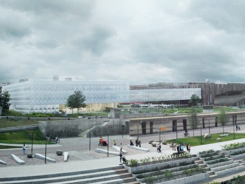 The Laboratory of the Copernican Revolution is growing next to the Copernicus Science Center