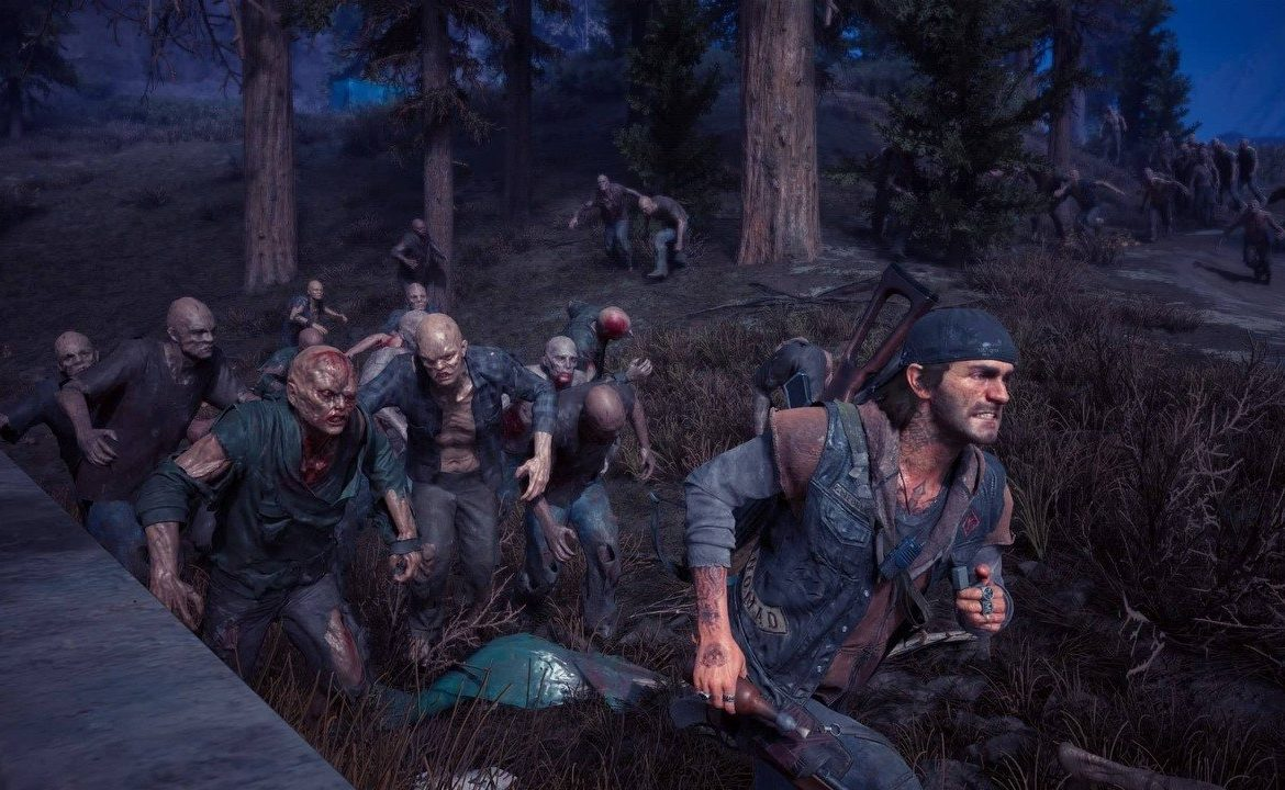 The new development game Days Gone will integrate online features