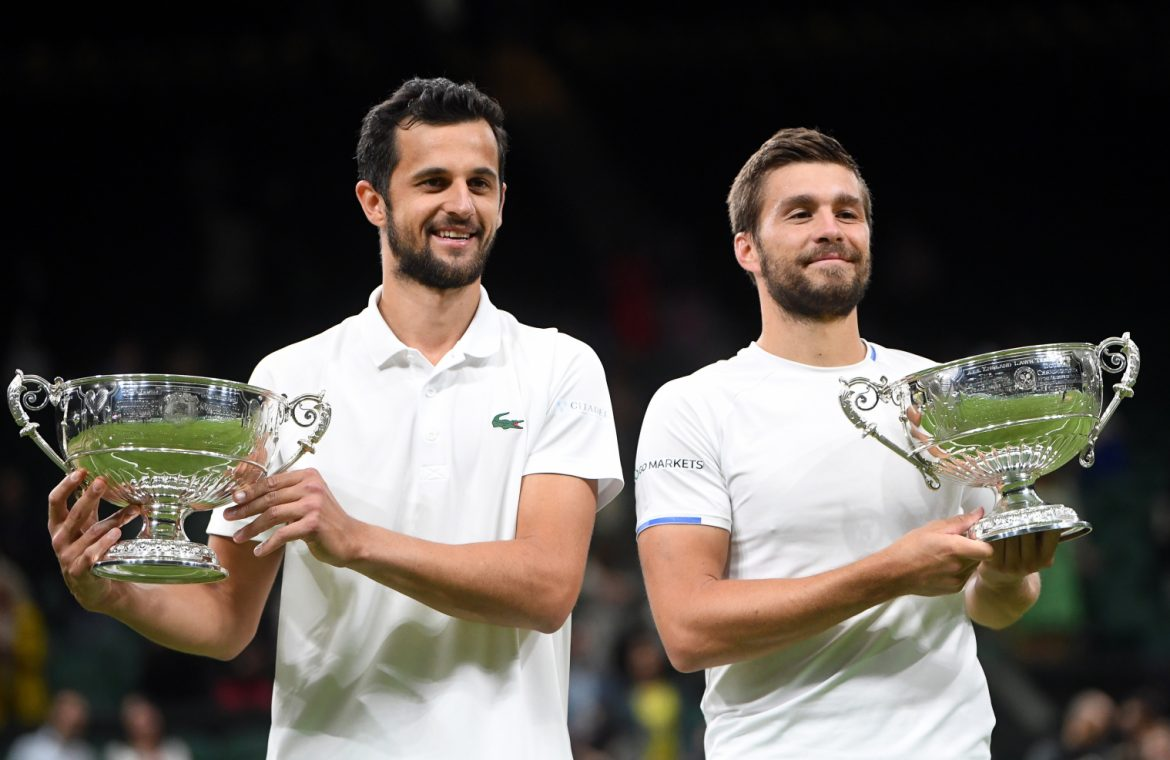 They crowned with amazing months.  Nikola Mektic and Mate Pavic win Wimbledon