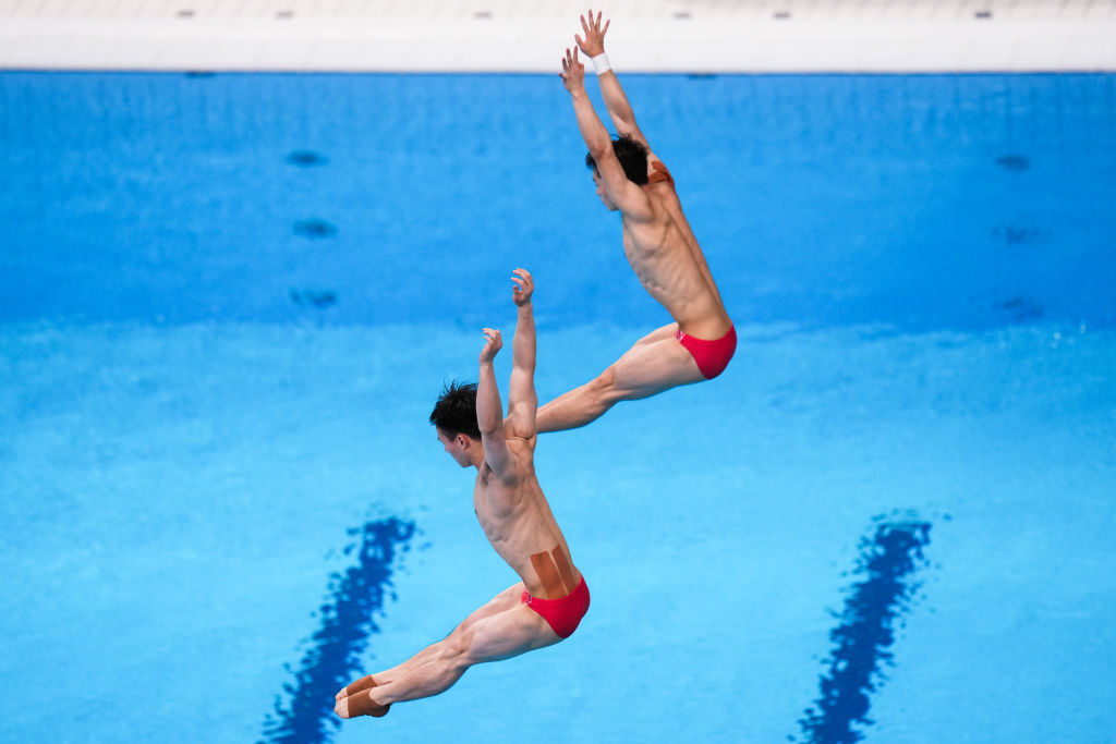Tokyo 2020. China wins gold again in synchronized diving