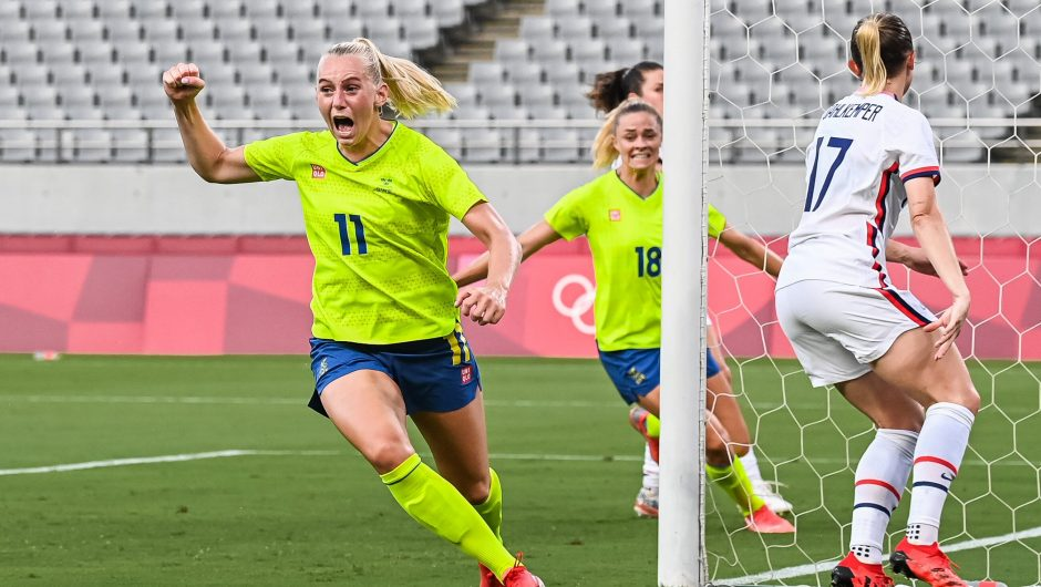 Tokyo 2020. Women's soccer.  Sweden - United States.  Result, calculate who won