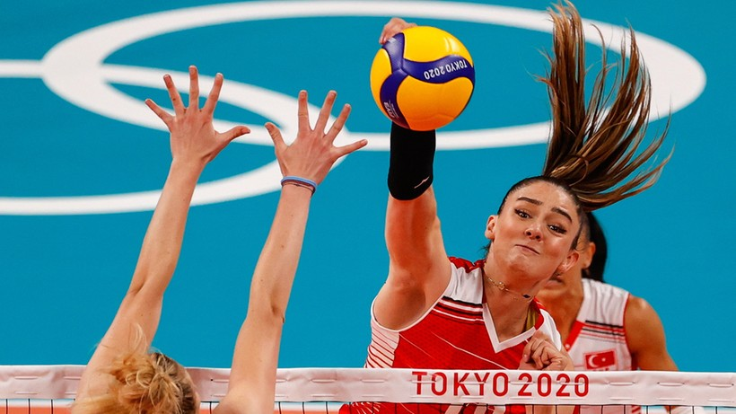 Tokyo 2020: Women's volleyball: USA - Turkey.  Live coverage and score