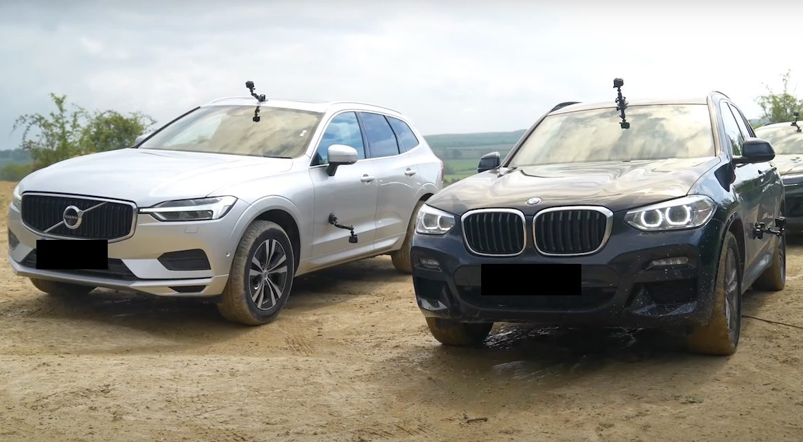 Volvo's all-wheel drive system has joined the battle between xDrive and Quattro.  Which SUV is the best?  (Video)
