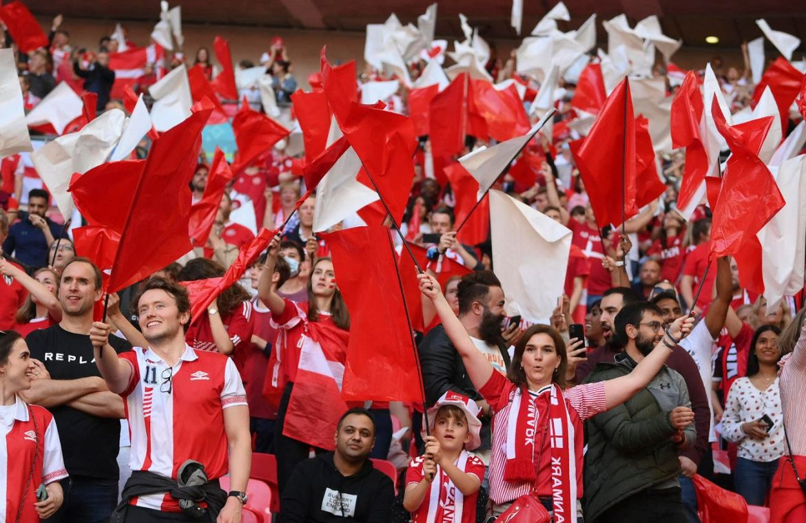 """""""We felt like we were in a zombie movie.""""  The Danes talk about the aggression of the English fans"""