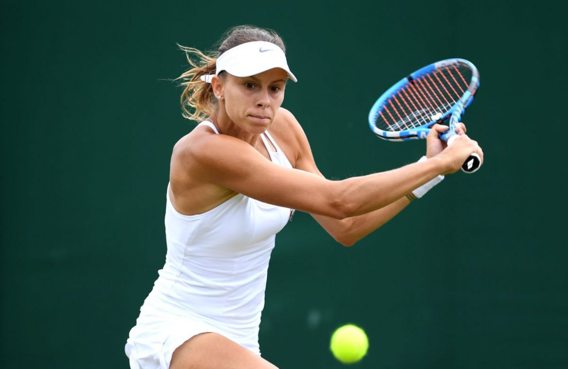 Wimbledon: Magda Lynette played as the professor.  The Polish women made a big surprise!