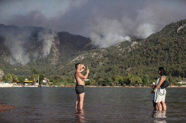 More than 100 fires are already raging in southern Turkey.