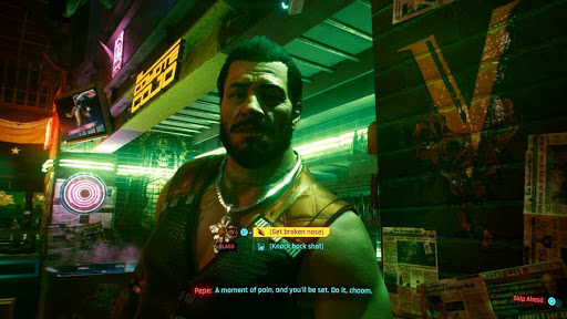 Cyberpunk 2077 - Choice