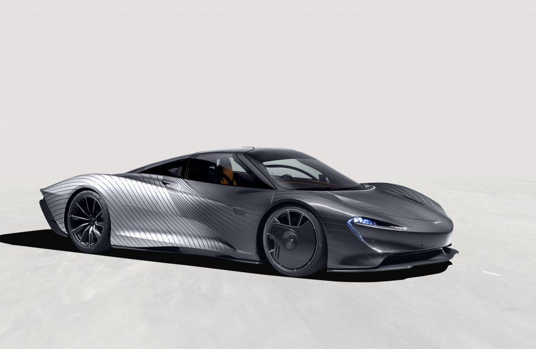 The McLaren Speedtail Albert has a must-have paint job!