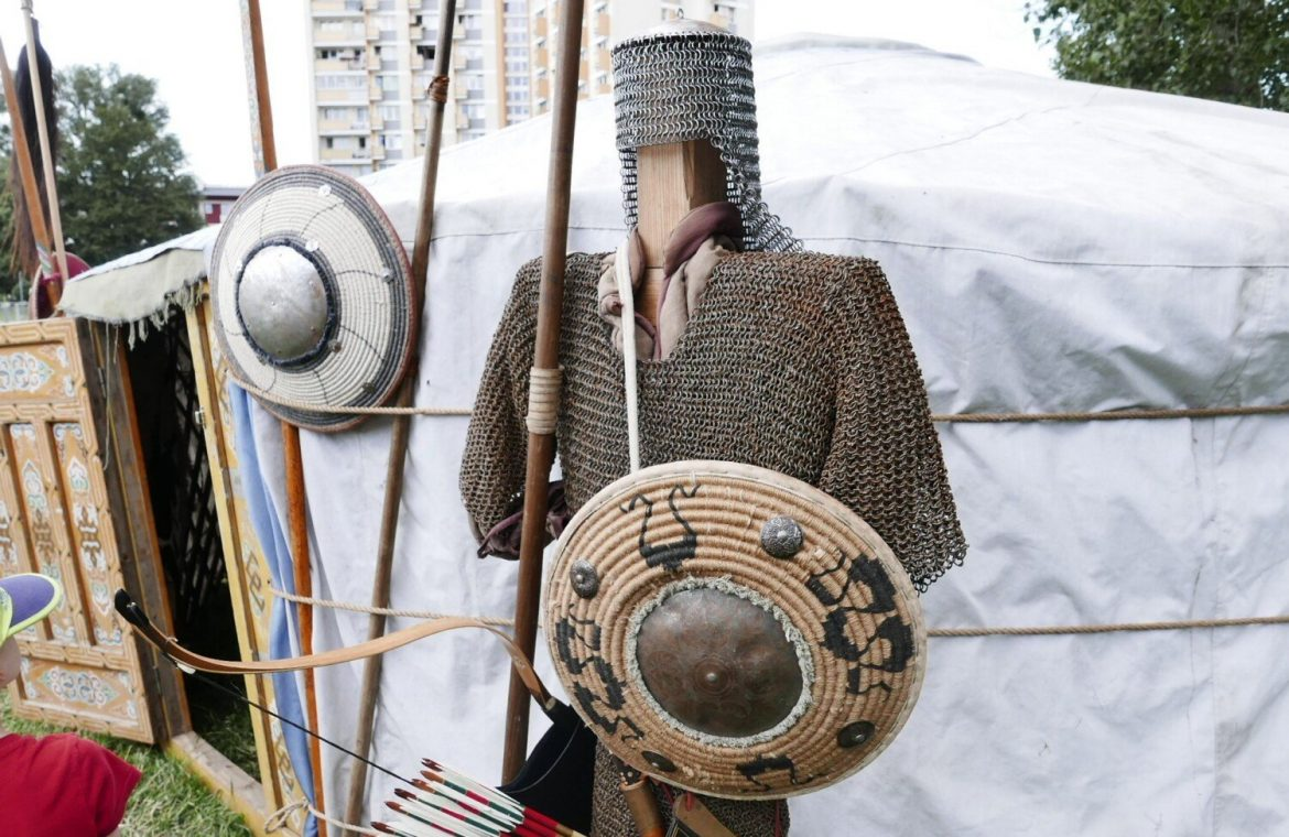 Warsaw.  Yurt tales and archery and weaving lessons.  Tatar culture returned to the capital