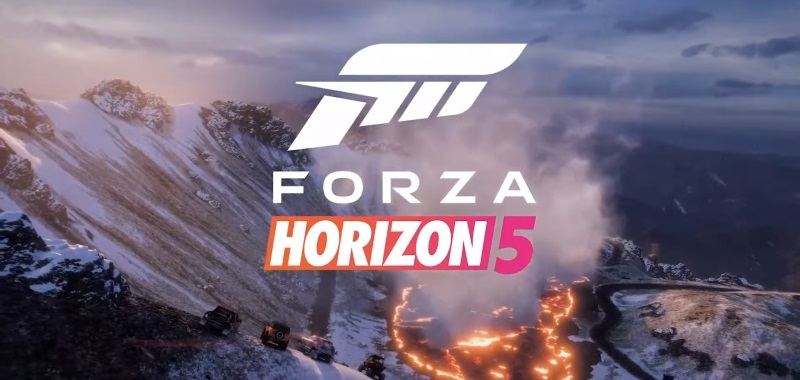 Forza Horizon 5 with full map view.  The creators showed the giant Mexico