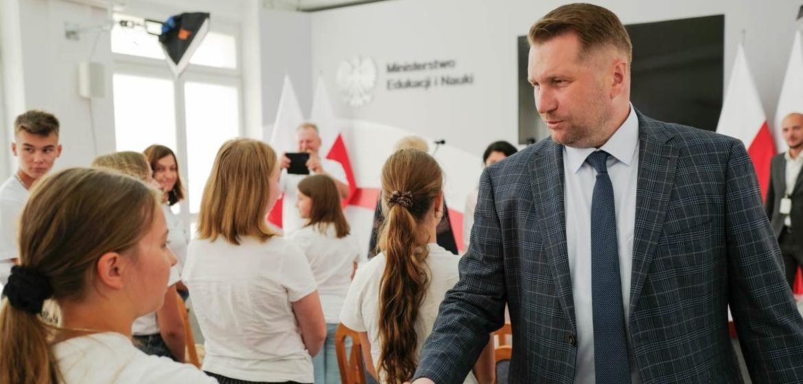 """Meeting of the Minister of Education and Science with representatives of the Polish-Ukrainian project """"Dumka i mazurek"""" - Ministry of Education and Science"""