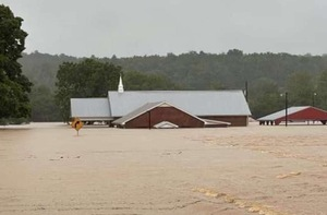 USA: Tennessee floods.  10 people were killed, including two children