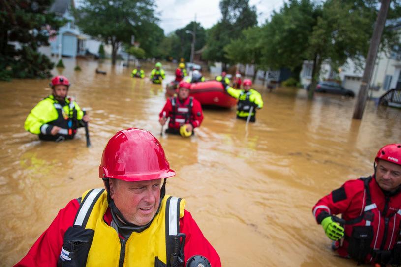 Tropicalna burza Henry / TOM BRENNER / AFP / East News / East News