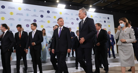Refugees on the border with Belarus.  Joint statement by the presidents of Poland, Lithuania, Latvia and Estonia