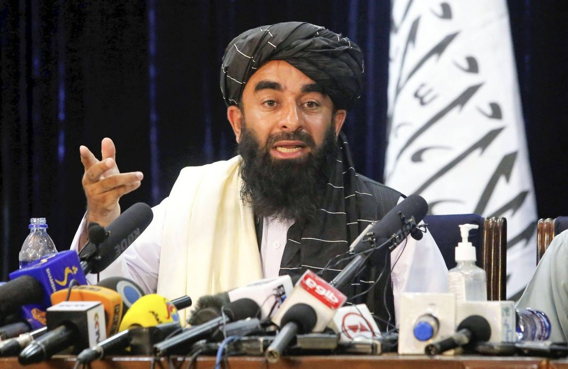 Afghanistan.  The Taliban give the United States an ultimatum