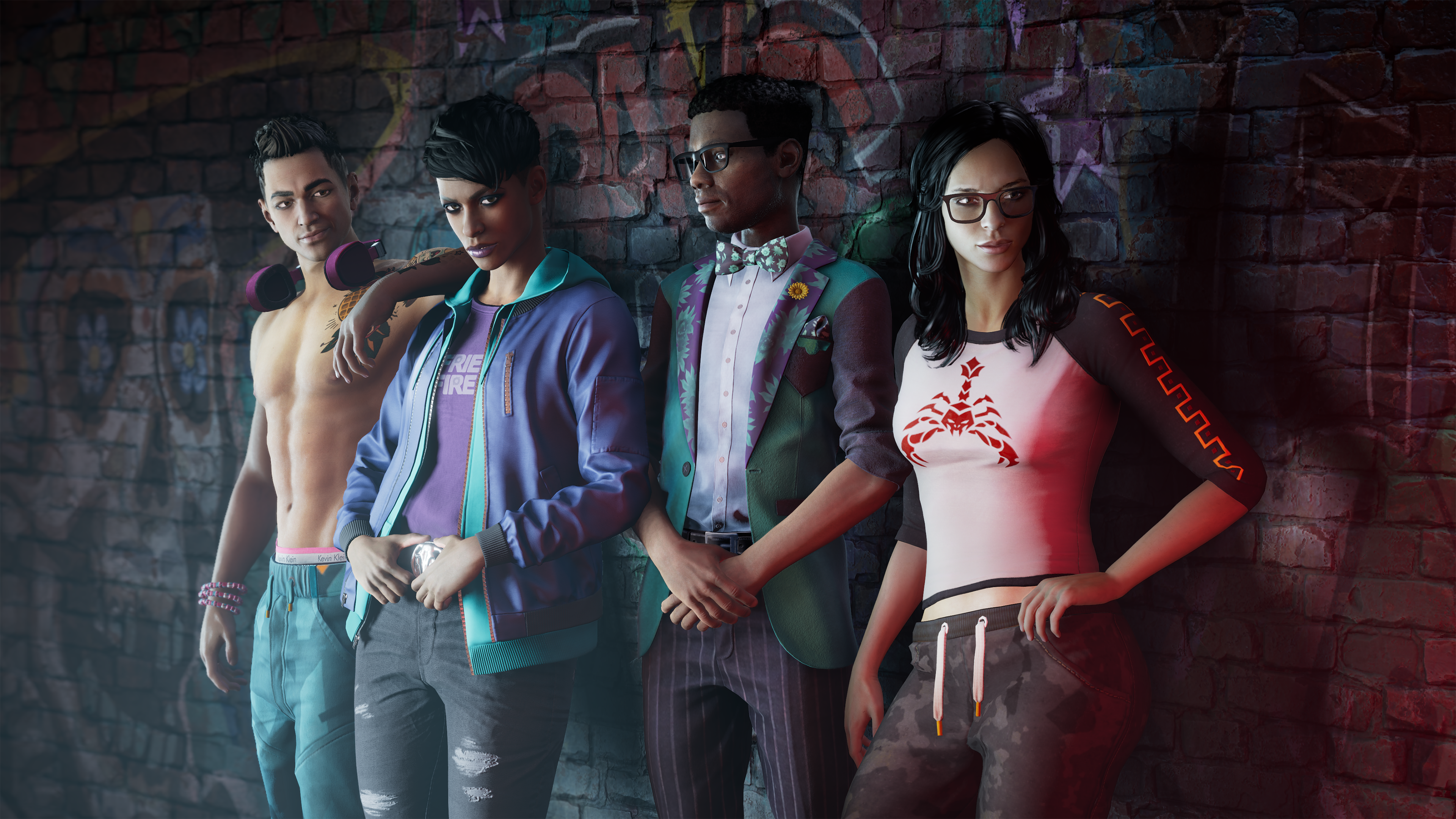 A new beginning for Saints Row also means the emergence of new heroes