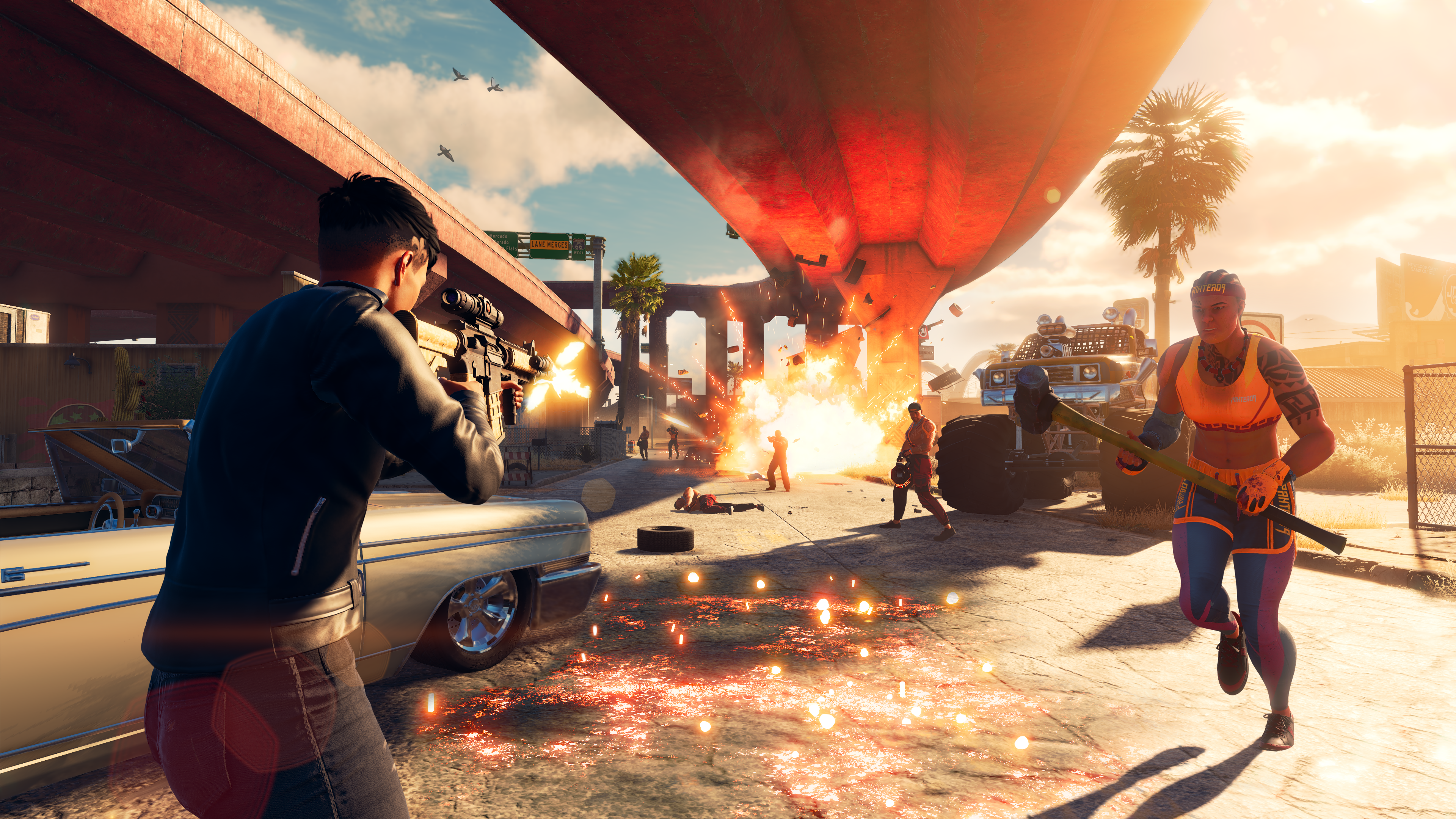 If shooting in Saints Row is fun, the game might win a lot of my sympathy