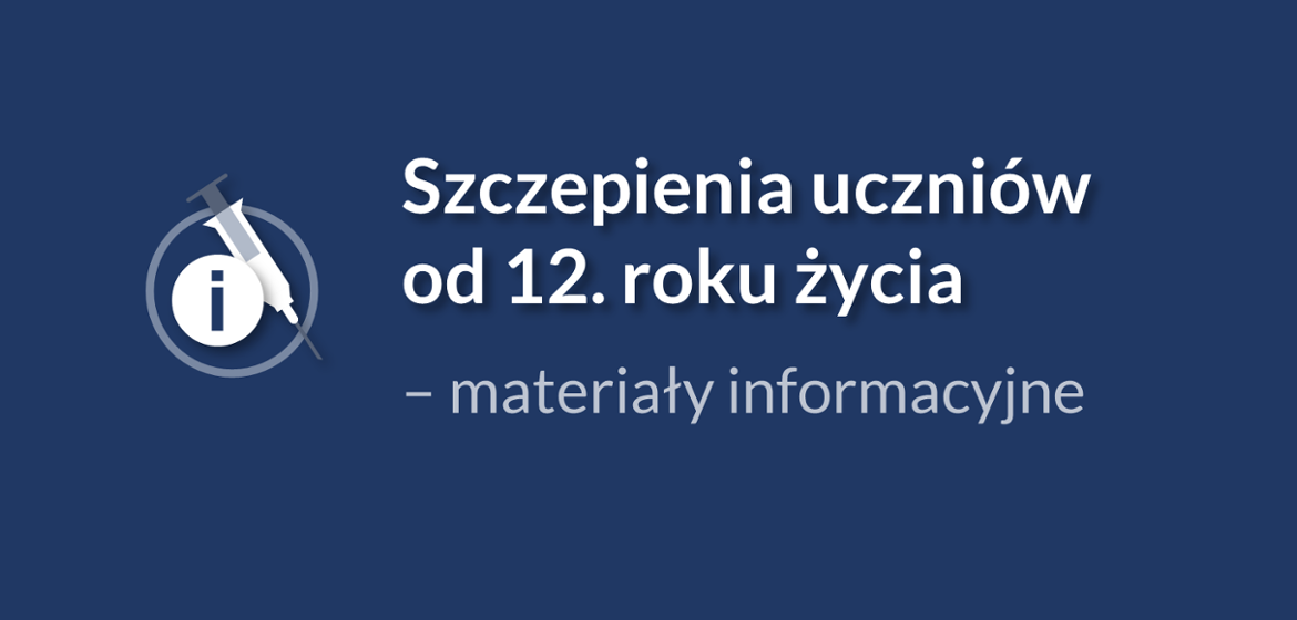 Vaccination of students from the age of 12 - Media materials - Ministry of Education and Science
