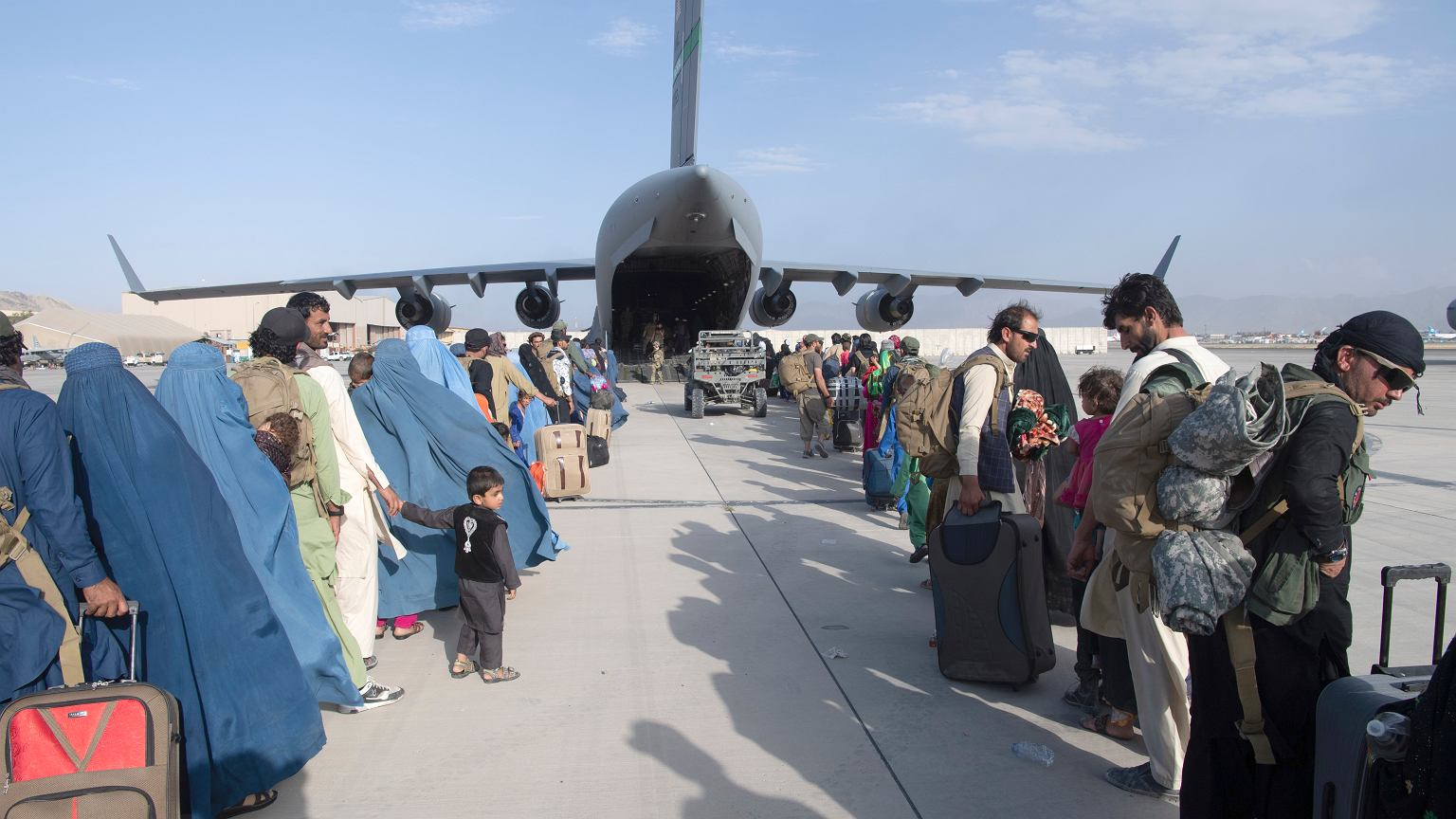 US Embassy in Kabul.  Americans should avoid Kabul airport