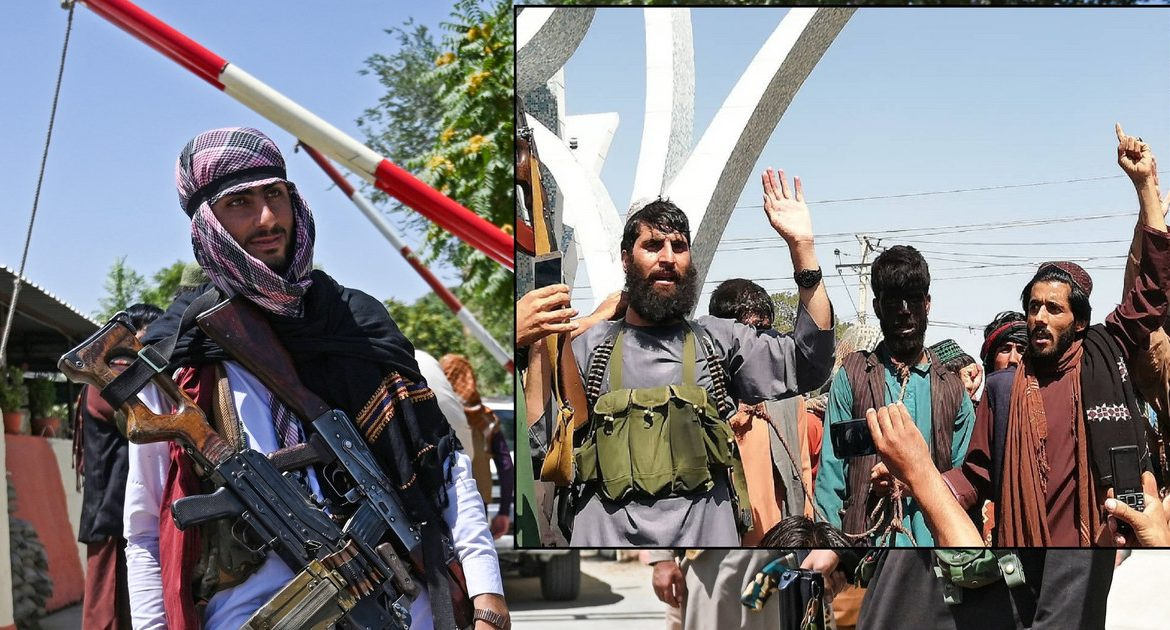 Afghanistan.  The Taliban tied a rope around the neck of the men in Harat