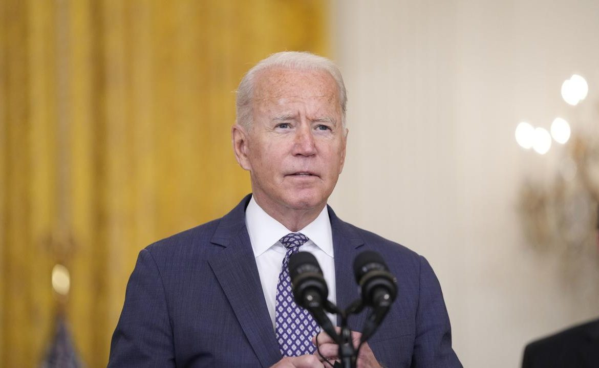 Afghanistan, the evacuation from Kabul.  US President Joe Biden on the end of the US-NATO mission and the exit from Afghanistan