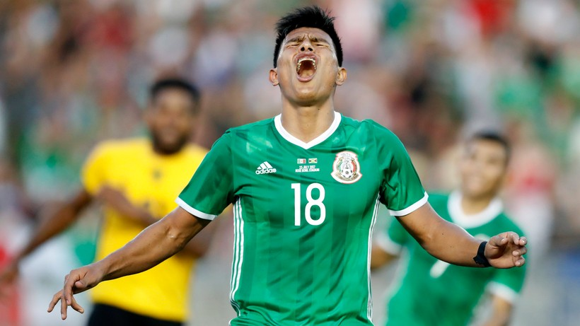 Gold Cup: America - Mexico.  Live coverage and score