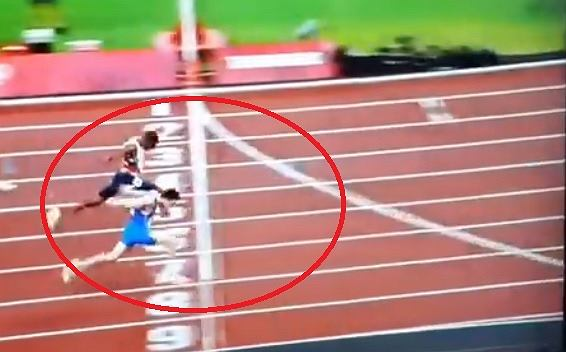 Great feel in the 4x100m relay!  0.01 seconds were decisive [WIDEO]