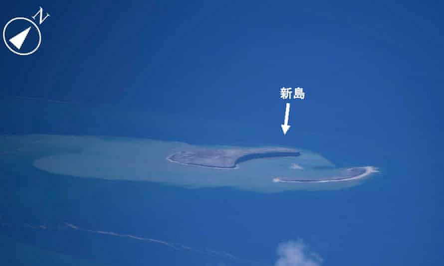 Japan will get a new island in the Pacific Ocean if it survives.  Formed after a volcano eruption