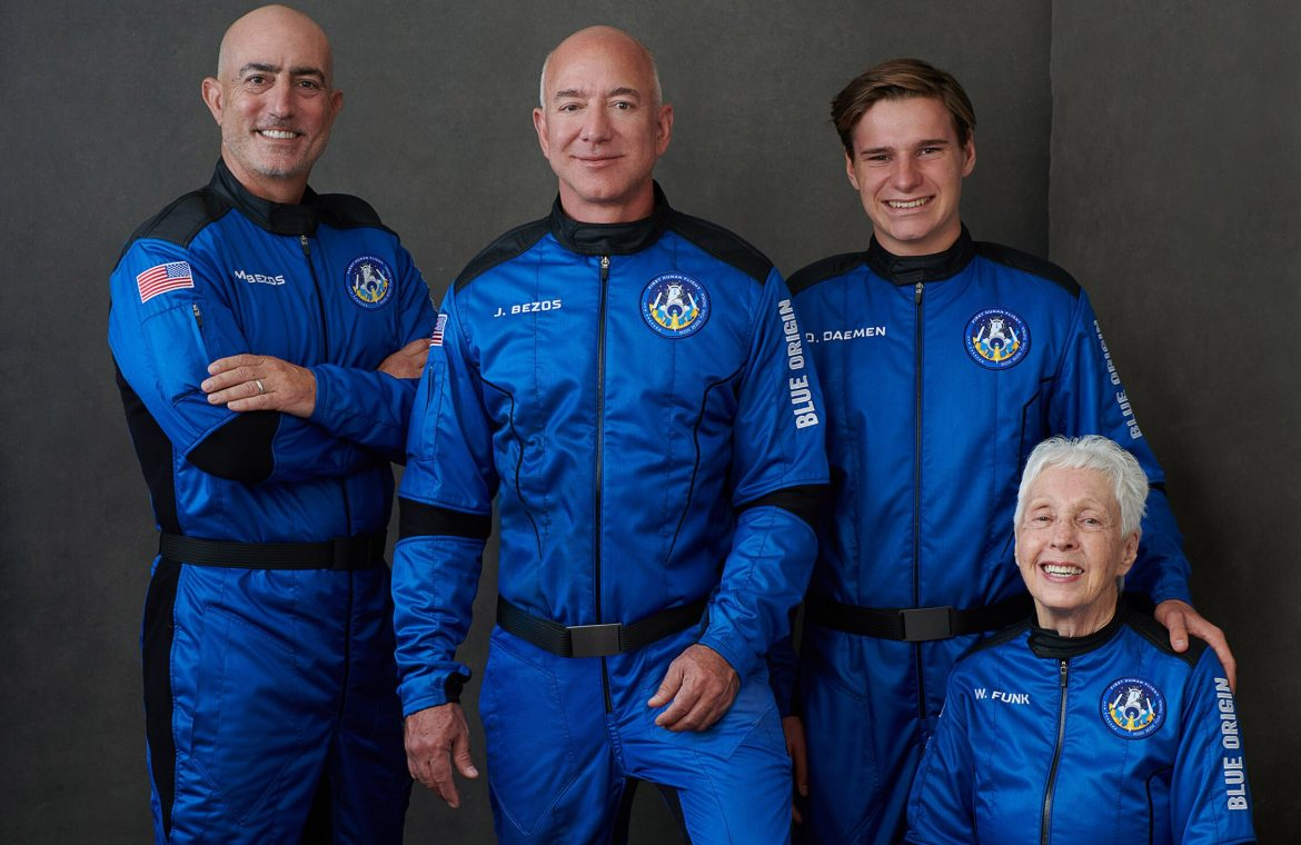 Jeff Bezos and Richard Branson risk the lives of passengers?  It's about crew suits