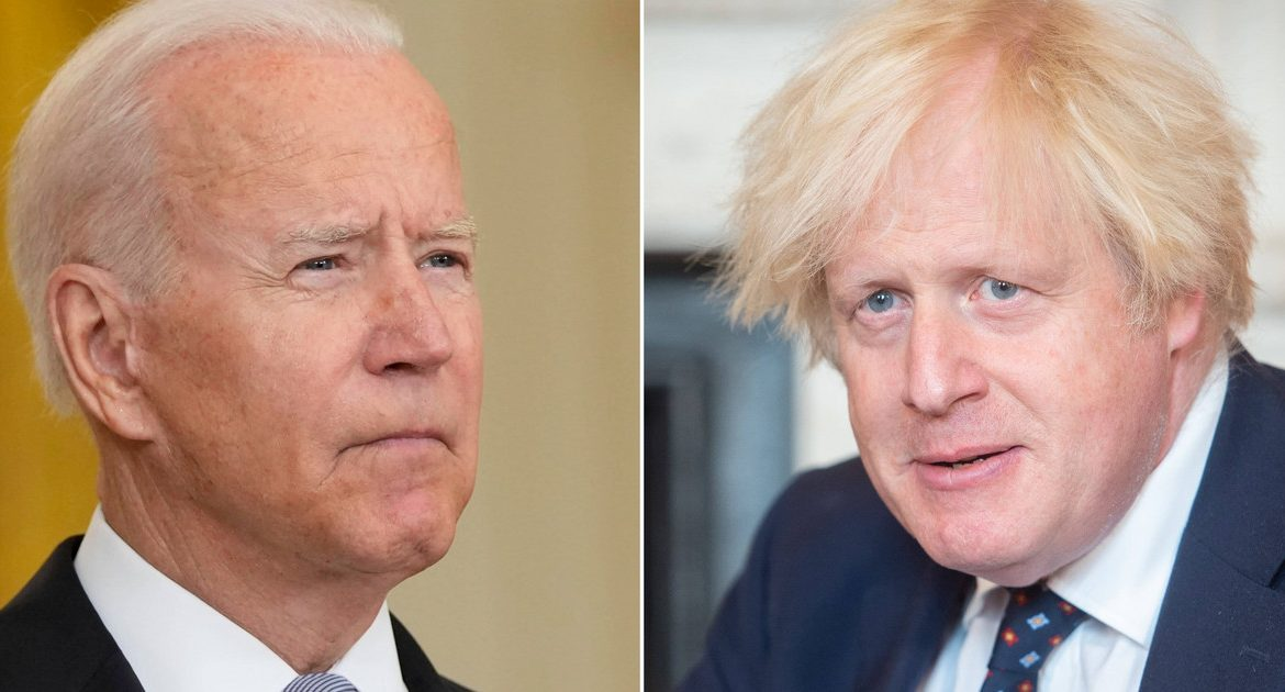 Johnson and Biden talked about the situation in Afghanistan
