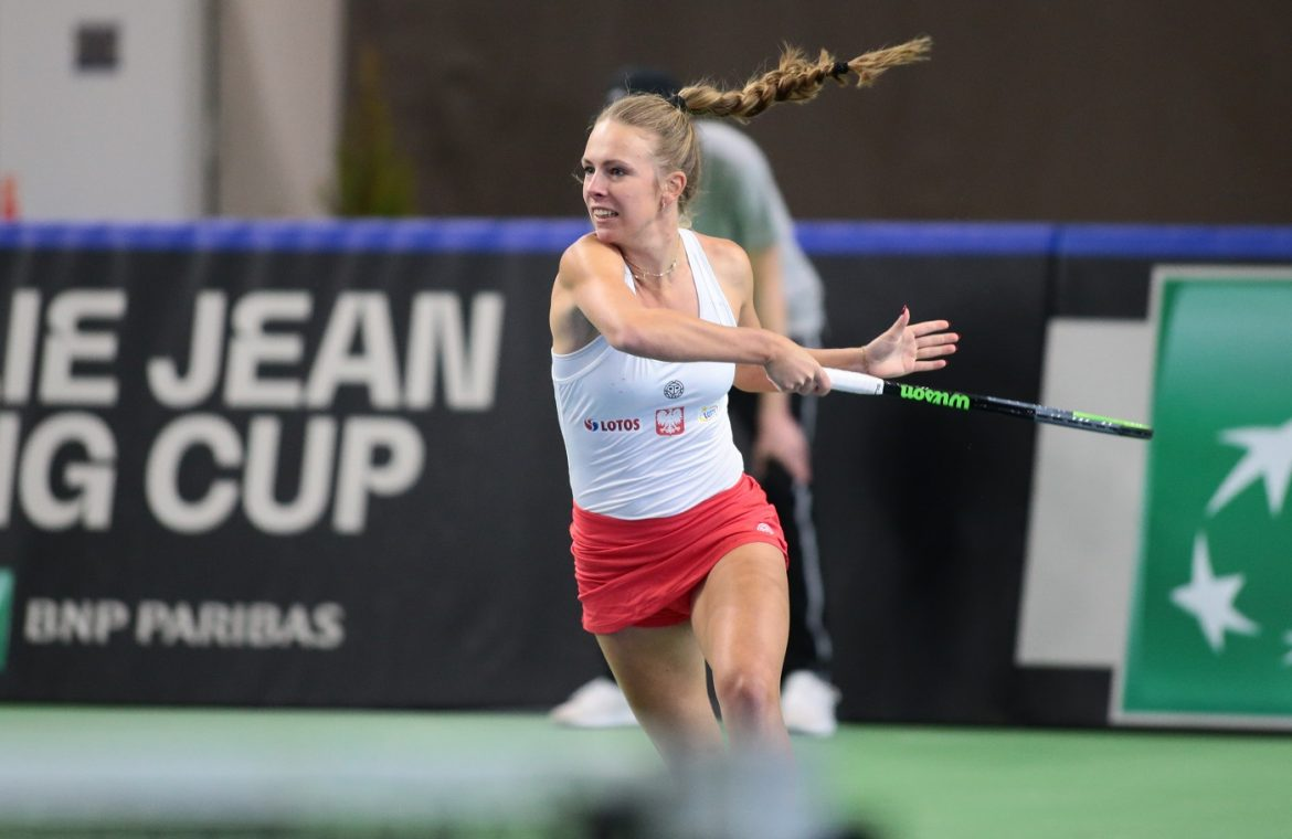 Magdalena Frisch continues her winning streak.  Possible Polish match