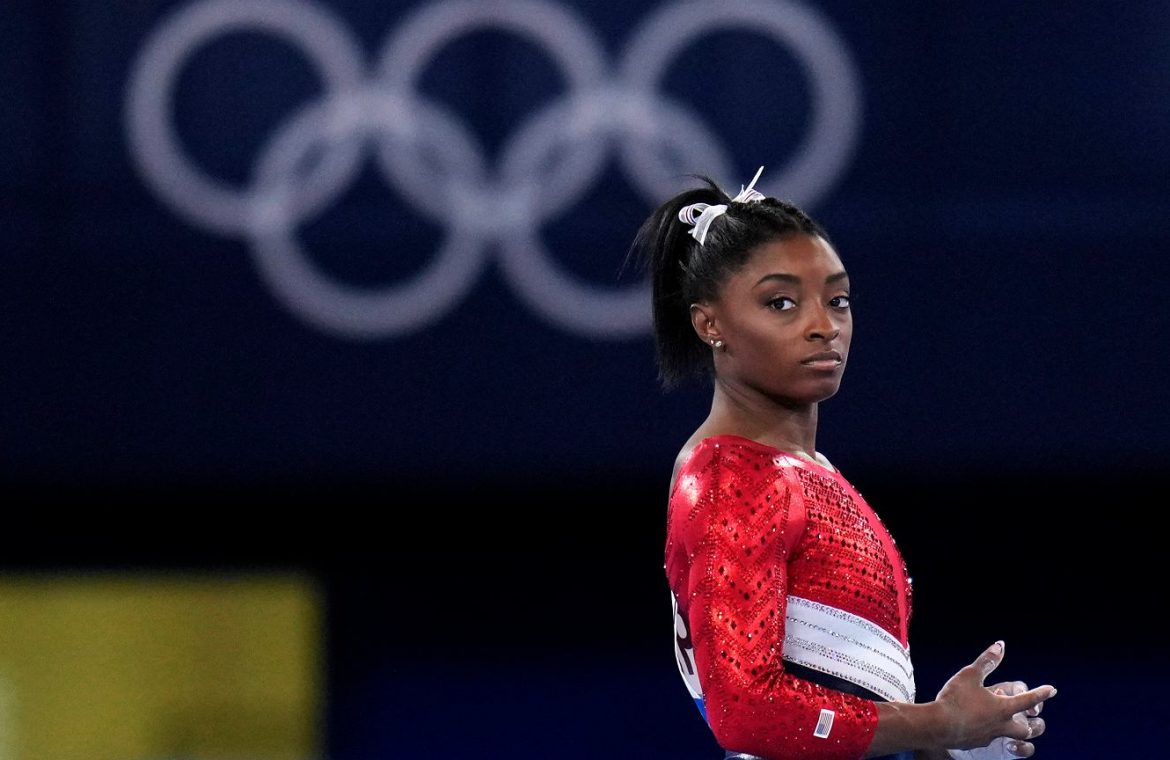 Simon Biles will be leaving the next competition!  The whole United States lives on it