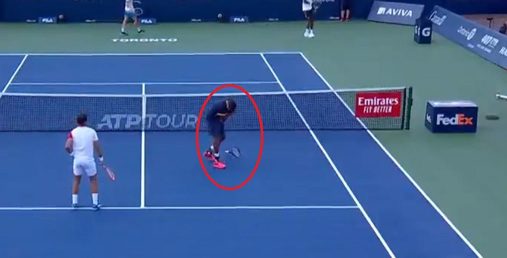 Such attacks are extremely rare.  Dodig has exaggerated too much [WIDEO] Tennis