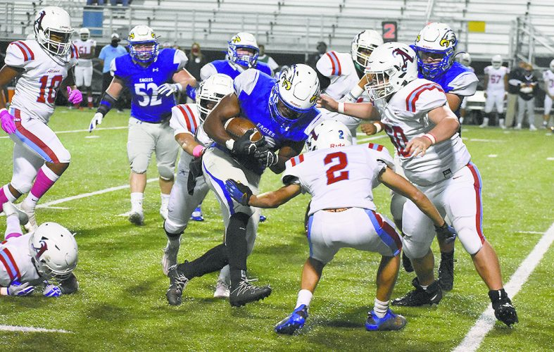 TC Caffey from Hubbard reverses record results in the first week