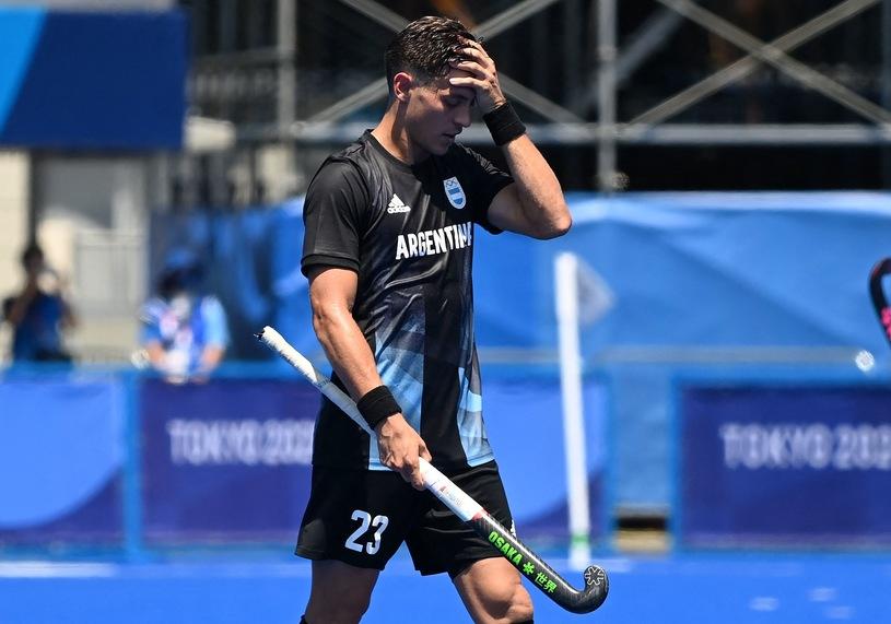 Argentina in the field hockey championship.  Tokyo 2020 / Charlie Triballio / AFP